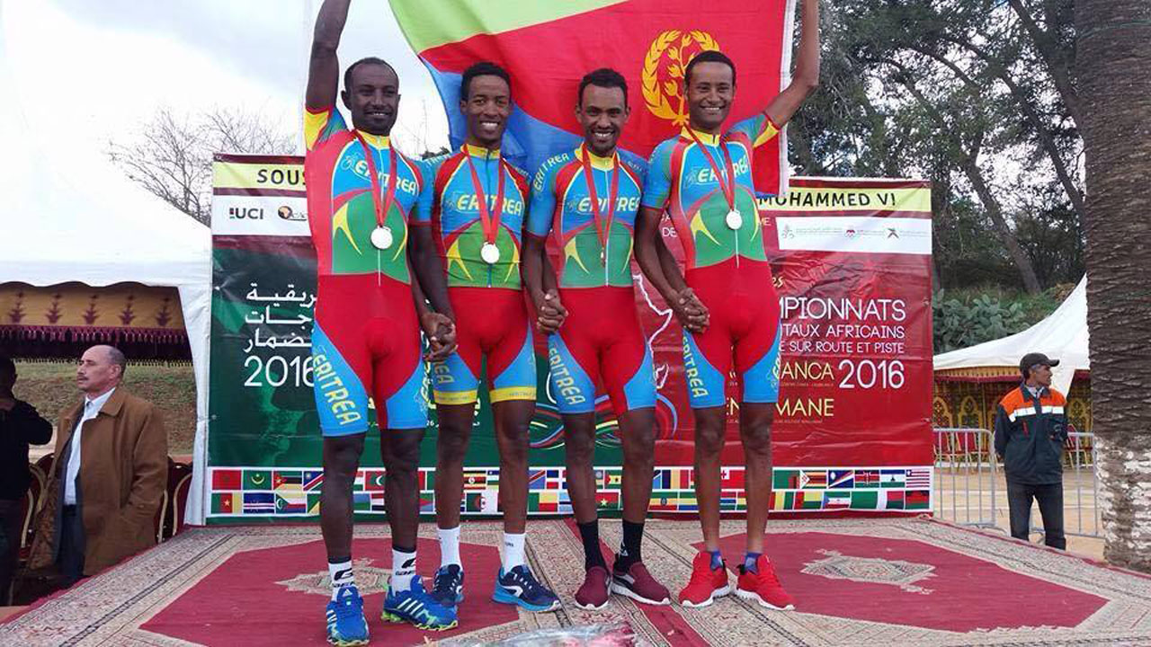 Eritrean Cycling Team Number 1 in Africa 2016 81